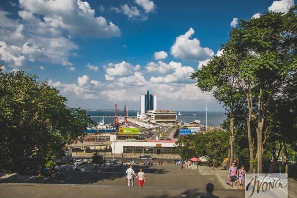 Вид на Морской порт
