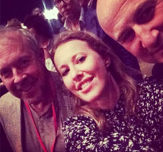 Ксения Собчак показала фото с Андреем Макаревичем