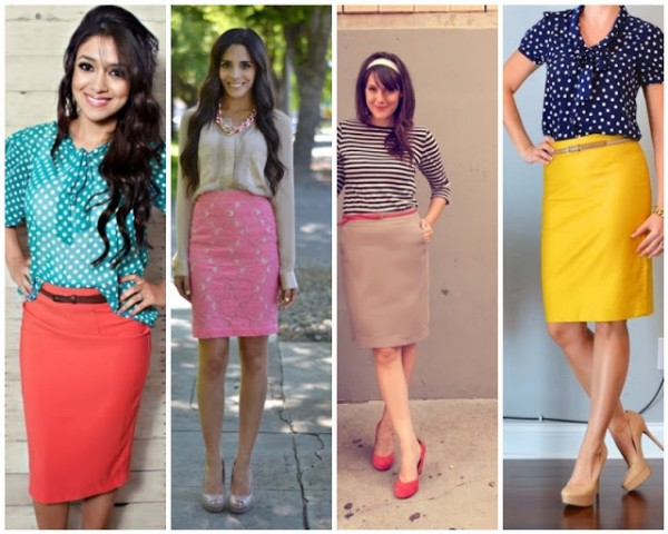 Модные вещи 2013: юбка-карандаш в трендовом цвете