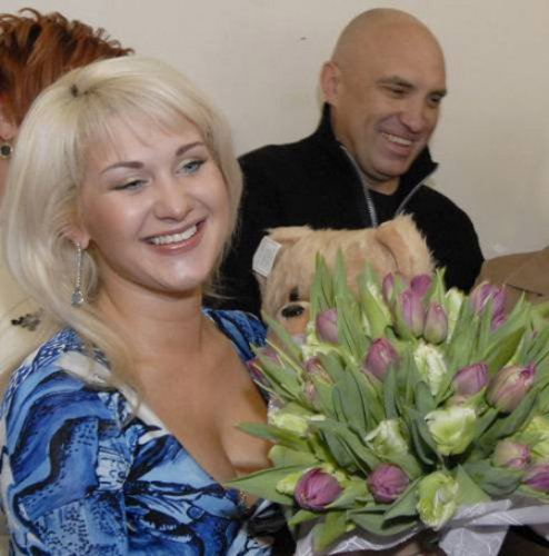 Катя Бужинская и ее первый супруг Юрий Квеленков
