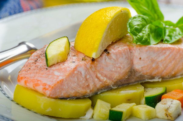 Филе лосося: рецепт с фото