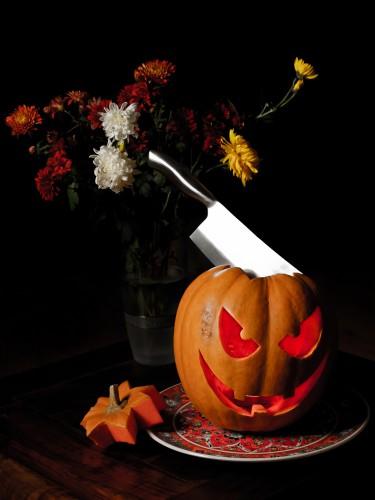 Тыкву традиционно вырезают 31 октября – на Хэллоуин