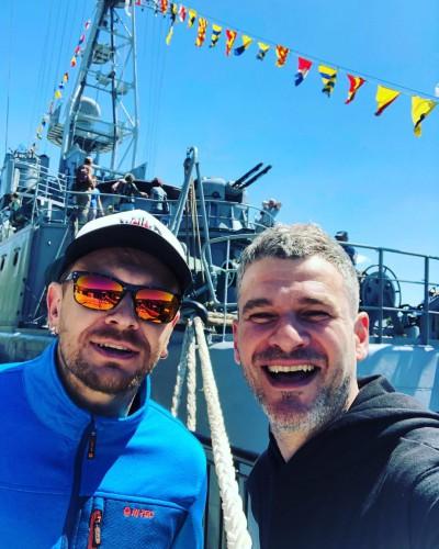 Александр Положинский и Арсен Мирзоян