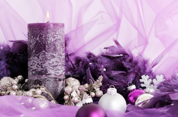 Новогодний декупаж: Декорируем свечу своими руками