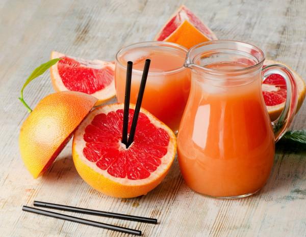 Рецепт                  Грейпфрутовый коктейль для похудения