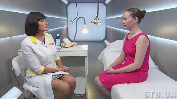 Я соромлюсь свого тіла 2 сезон: Анна Воронцова на приеме у Людмилы