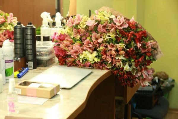 Цветы для Леси Никитюк от тайного поклонника