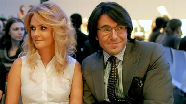 Анрдрей Малахов с супругой