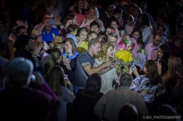 Американские фанаты пришли на концерт Тины Кароль в вышиванках