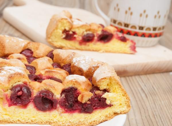 Рецепт                  Пирог с черешней: Рецепт