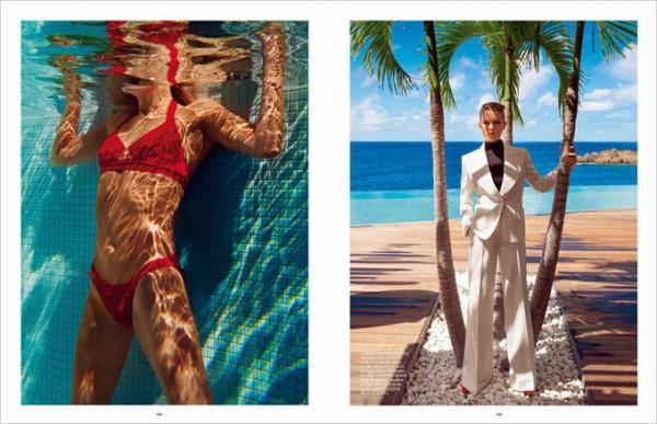 Модель Наташа Поли в журнале  Vogue Paris