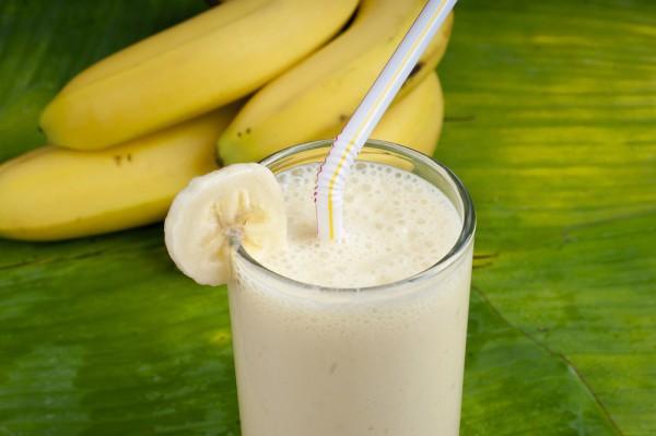 Молоко повышает калорийность бананов