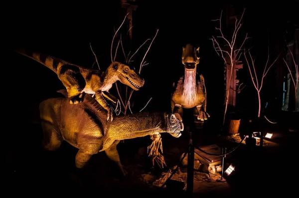 Выставка «Живые динозавры»