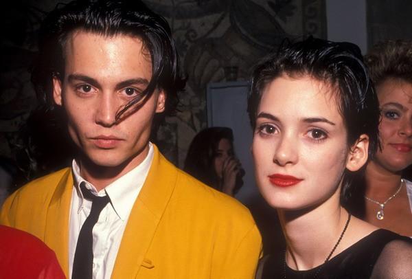 Отношения Джонни Деппа и Вайноны Райдер просуществовали пять лет