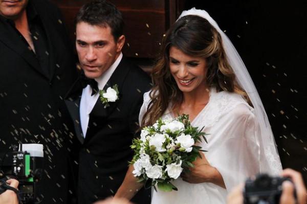 Итальянская модель и актриса Элизабетт Каналис вышла замуж.