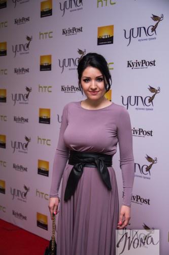 Украинская певица Ангелина Завальская