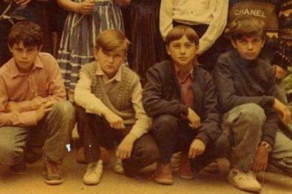 Дима Билан со школьными друзьями