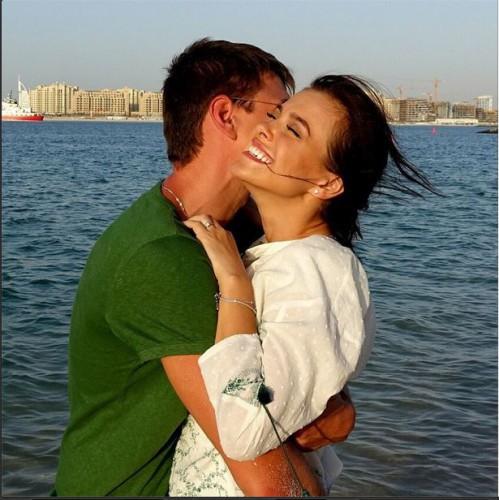 Елена Темникова с супругом
