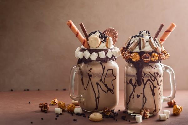 Милкшейк с шоколадом и Орео