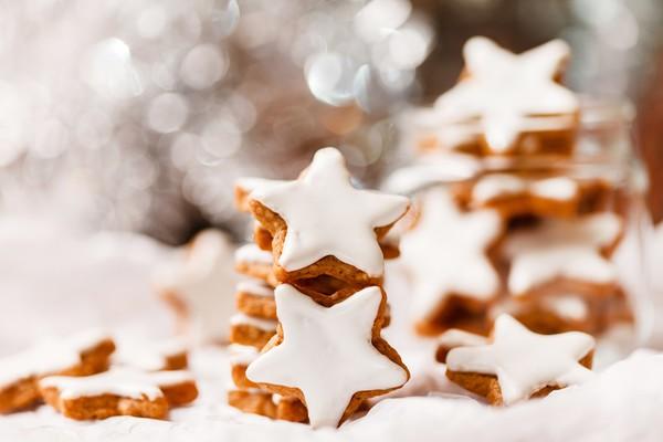 Рождественское печенье коричное