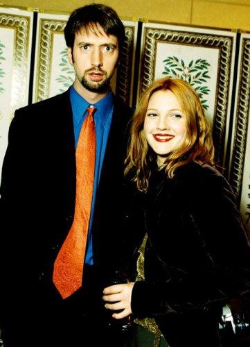Дрю Бэрримор со вторым мужем Томом Грином