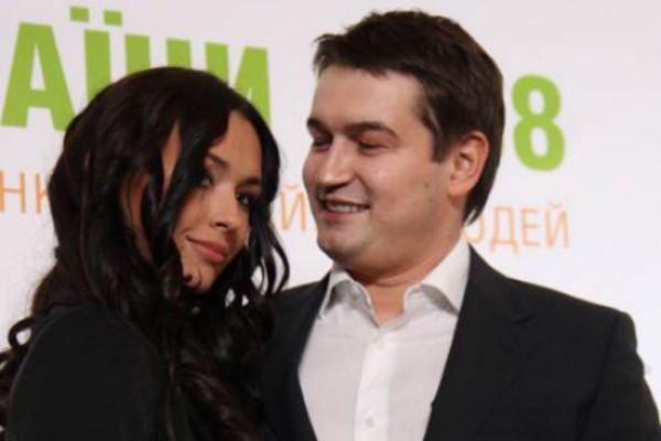 Андрей Ющенко с женой Елизаветой до развода