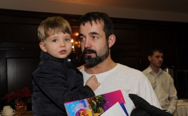 С сыном Елисеем