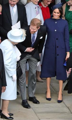 Герцоги Сассекские на свадьбе принцессы Евгении