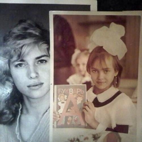 Ирина Шейк со своей мамой