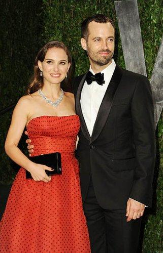 Теперь уже супруги Натали Портман и Бенджамин Мильпье