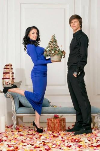Александ Лещенко с женой
