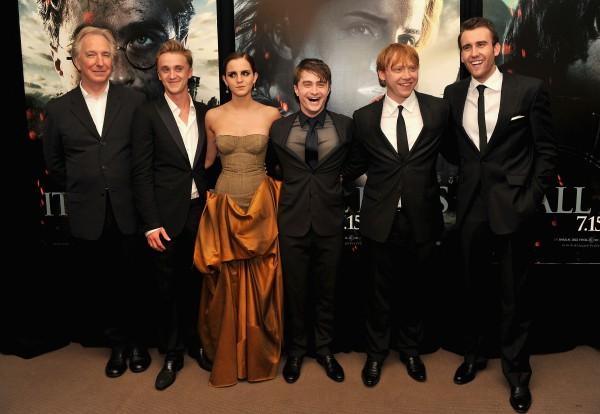 Актеры фильмов о Гарри Поттере