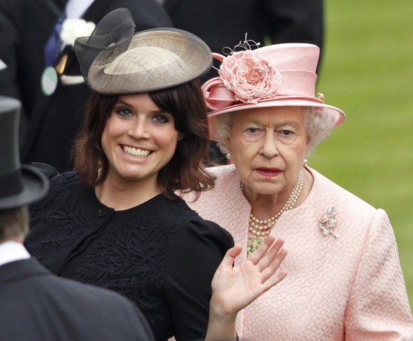 Принцесса Евгения и королева Елизавета