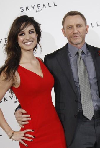 Беренис Марло и Дэниел Крейг были партнерами на съемочной площадке фильма 007: Координаты Скайфолл
