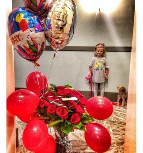 Седокова поздравила дочку Монику