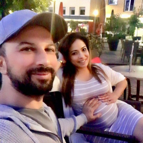 Таркан с супругой