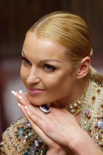 Анастасия Волочкова мечтает о лаврах певицы