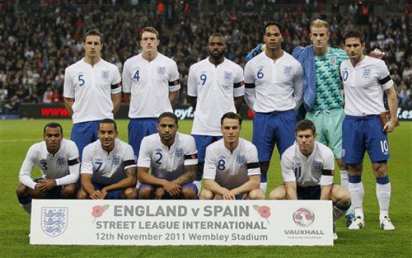 Евро 2012 сборная англии