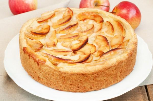 шарлотка с яблоками рецепт в мультиварке с разрыхлителем