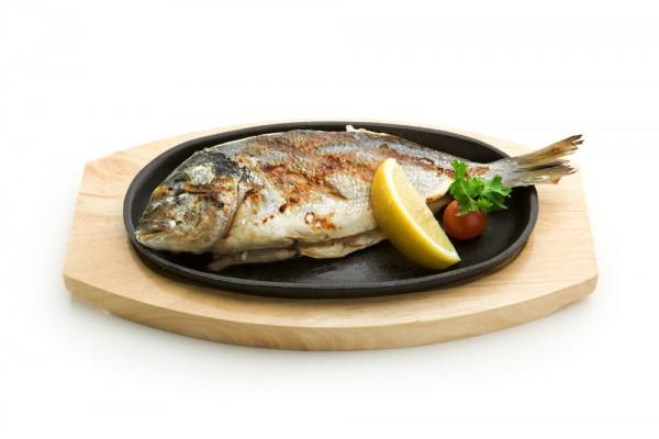 Рецепт                  Запеченная рыба с лимоном