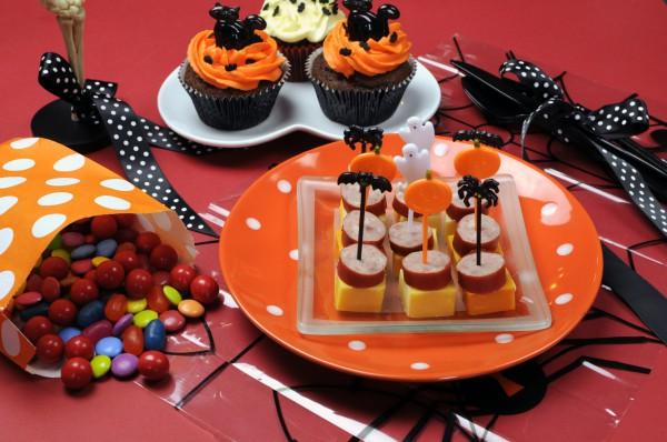 Черный и оранжевый – традиционные цвета Хэллоуина