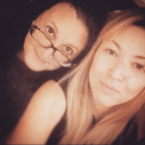 Дубцова с мамой