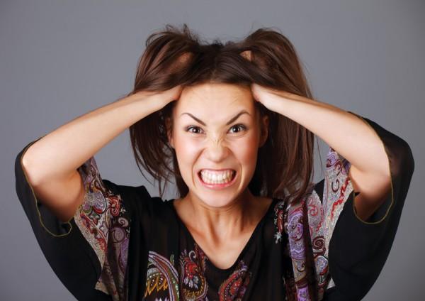 Мужчинам не нравятся женщины в стрессовом состоянни