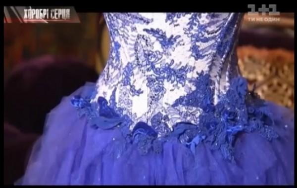 Камалия продает платье