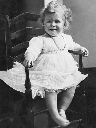 Принцесса Елизаветта ІІ в детстве