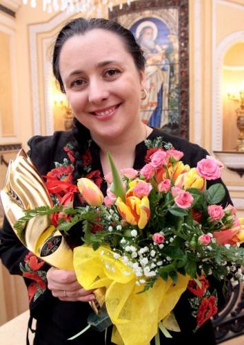 Светлана Панюшкина – руководитель проекта, главный редактор Интернет портала SEGODNYA.UA, который стал победителем в номинации Новостной интернет портал года