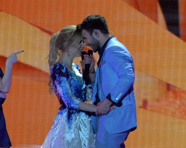 Евровидение 2015: Выступление Моники Линките и Вайдаса Баумила (Литва) во втором полуфинале