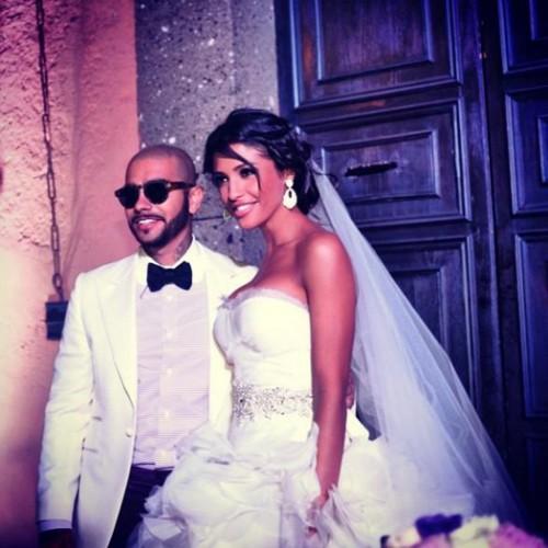 Тимати был гостем на свадьбе Санты Димопулос
