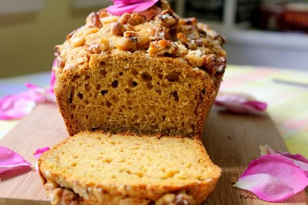 Рецепт                  Тыквенный кекс с орехами