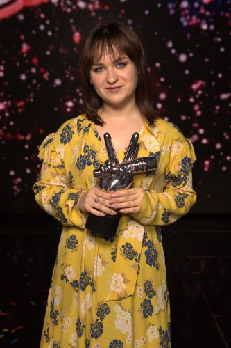 Победительница проекта «Голос країни 8» на телеканале «1+1» Алена Луценко